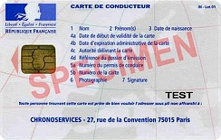 carte conducteur